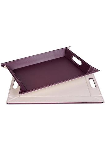freeform Tablett, (1 tlg.), mit Doppelfunktion, 41 x 55 cm kaufen