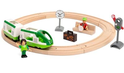 BRIO® Spielzeug-Eisenbahn »Starter Set Reisezug«, FSC® - schützt Wald - weltweit kaufen