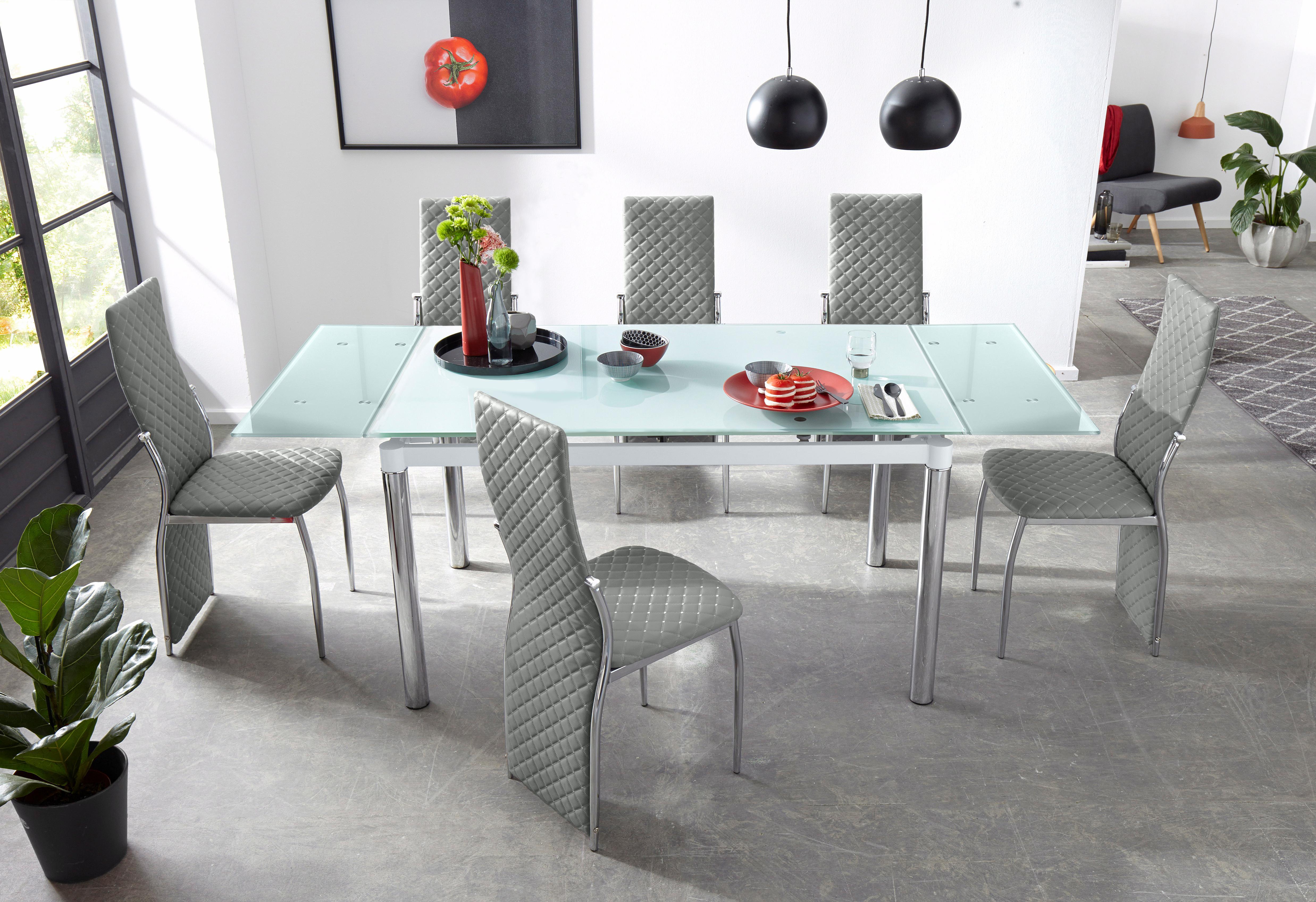 Essgruppe (Set, 5-tlg) weiß Essgruppen Tische Sitzmöbel-Sets