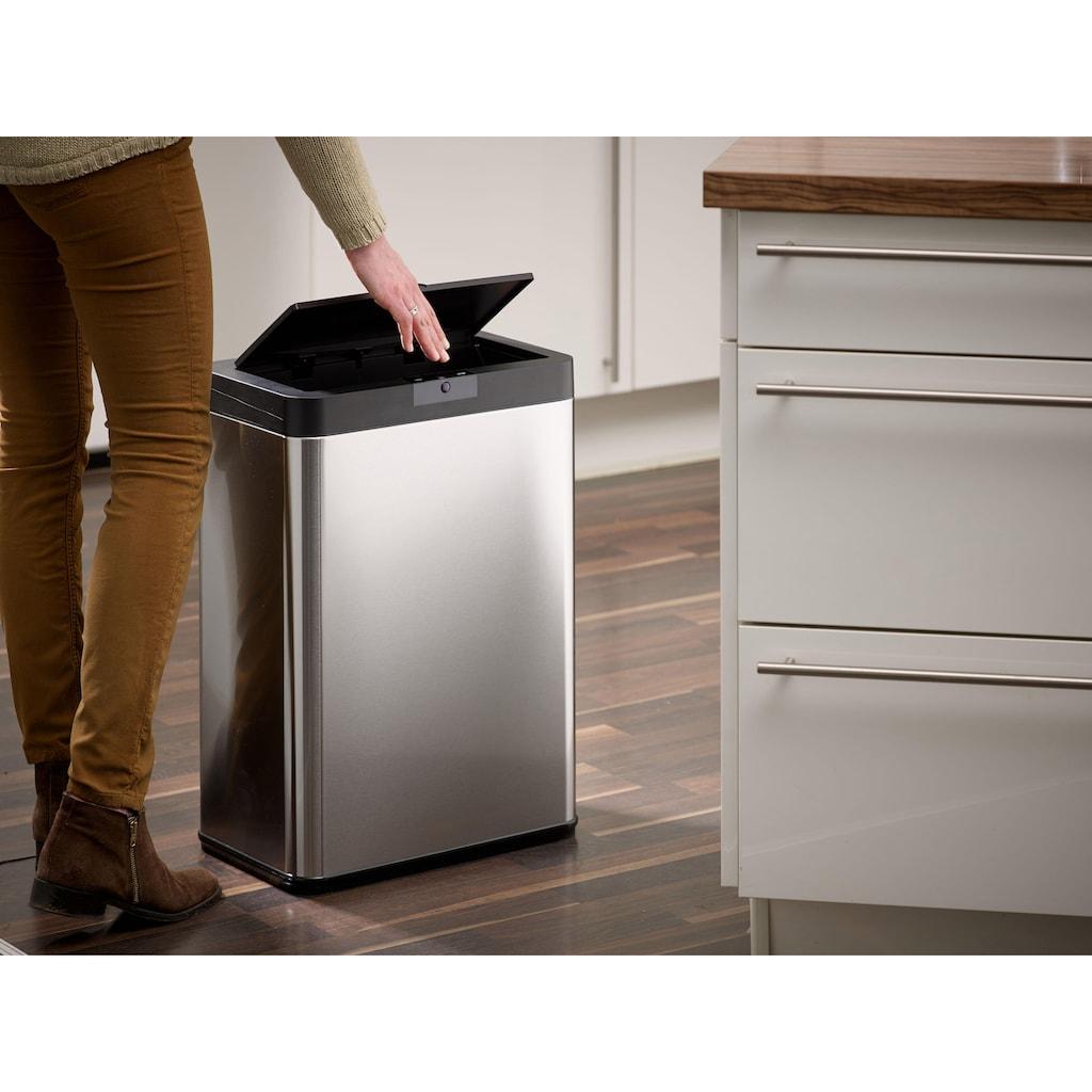 ECHTWERK Mülleimer »SQUARE«, Infrarot-Sensor, Fassungsvermögen 48 Liter