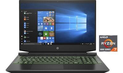 """HP Gaming-Notebook »Pavilion Gaming 15-ec2275ng«, (39,6 cm/15,6 """" AMD Ryzen 7 GeForce... kaufen"""