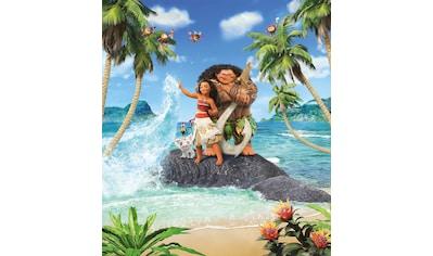 Komar Fototapete »Moana Beach«, bedruckt-Comic-Retro-mehrfarbig, BxH: 250x280 cm kaufen