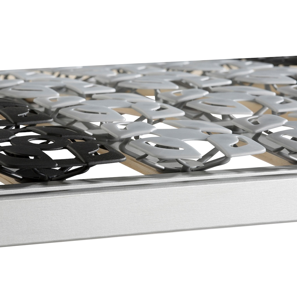 BeCo EXCLUSIV Tellerlattenrost »Flex Modul«, Kopfteil manuell verstellbar, mit 4-fach Module!