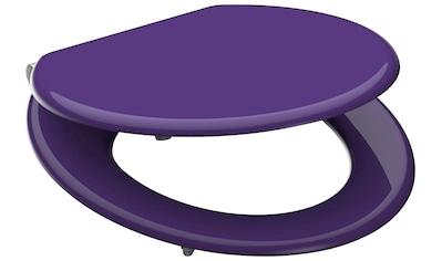 SCHÜTTE WC - Sitz »violett«, mit Absenkautomatik kaufen