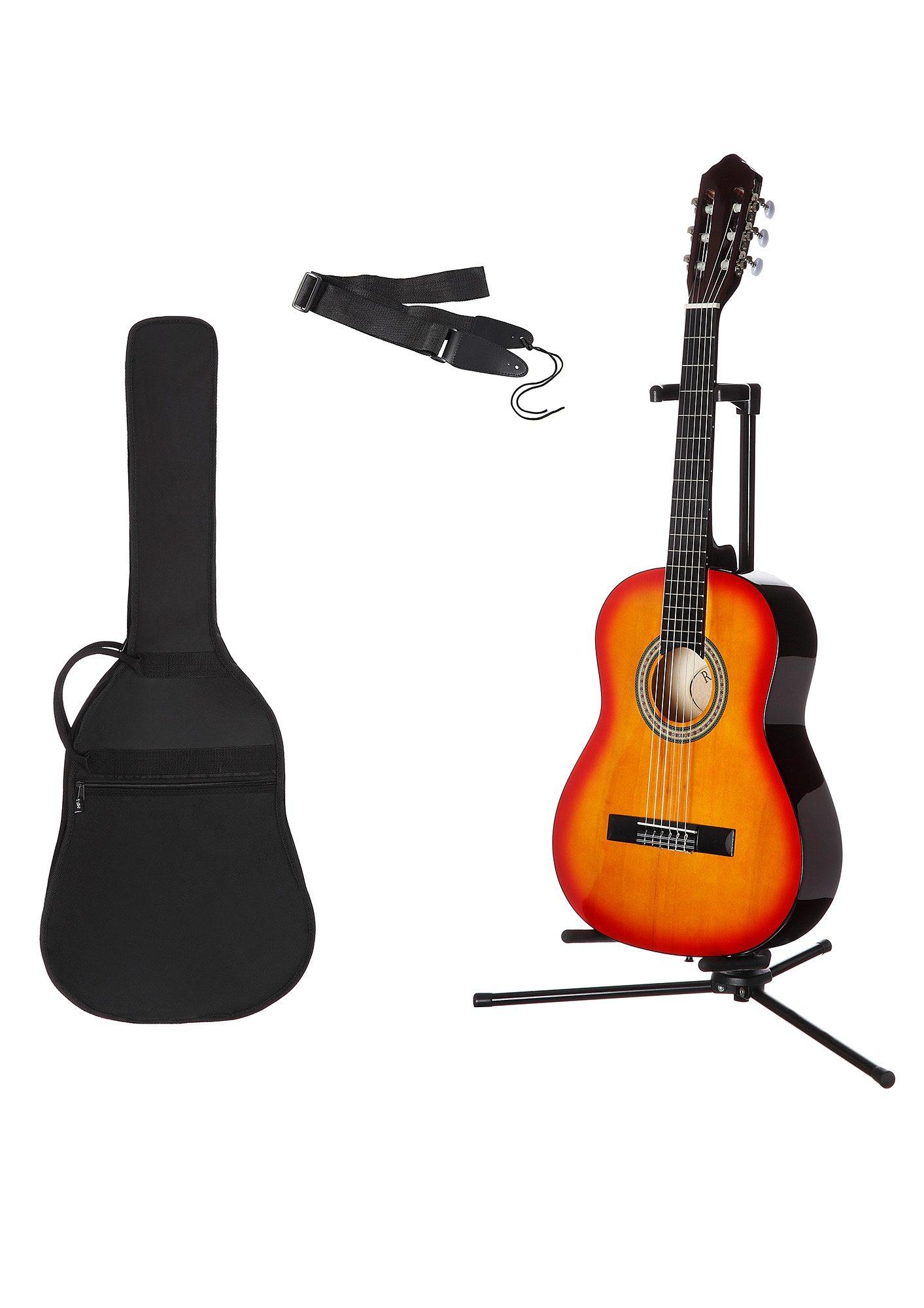 Kindergitarre für Rechts- und Linkshänder Konzertgitarren-Set 3/4 MSA Preisvergleich