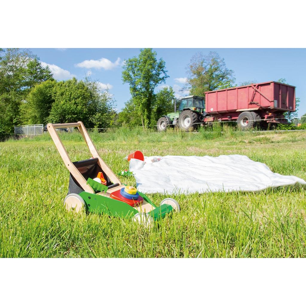 Pinolino® Lauflernwagen »Rasenmäher Klaas«, FSC®-Holz aus gewissenhaft bewirtschafteten Wäldern