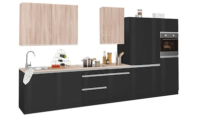 HELD MÖBEL Küchenzeile »Ohio«, ohne E-Geräte, Breite 390 cm kaufen