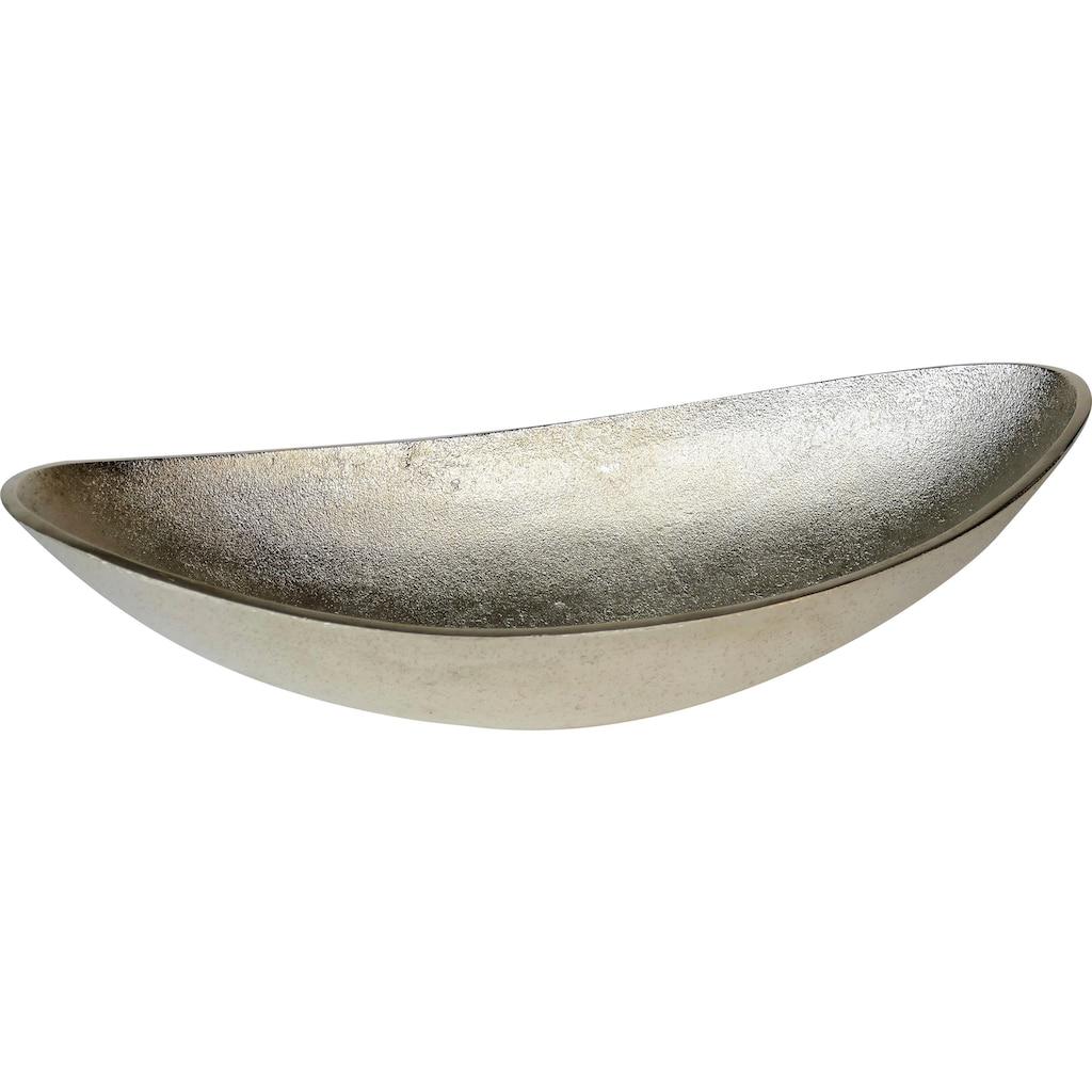 ARTRA Dekoschale »Lisa«, aus Aluminium, oval