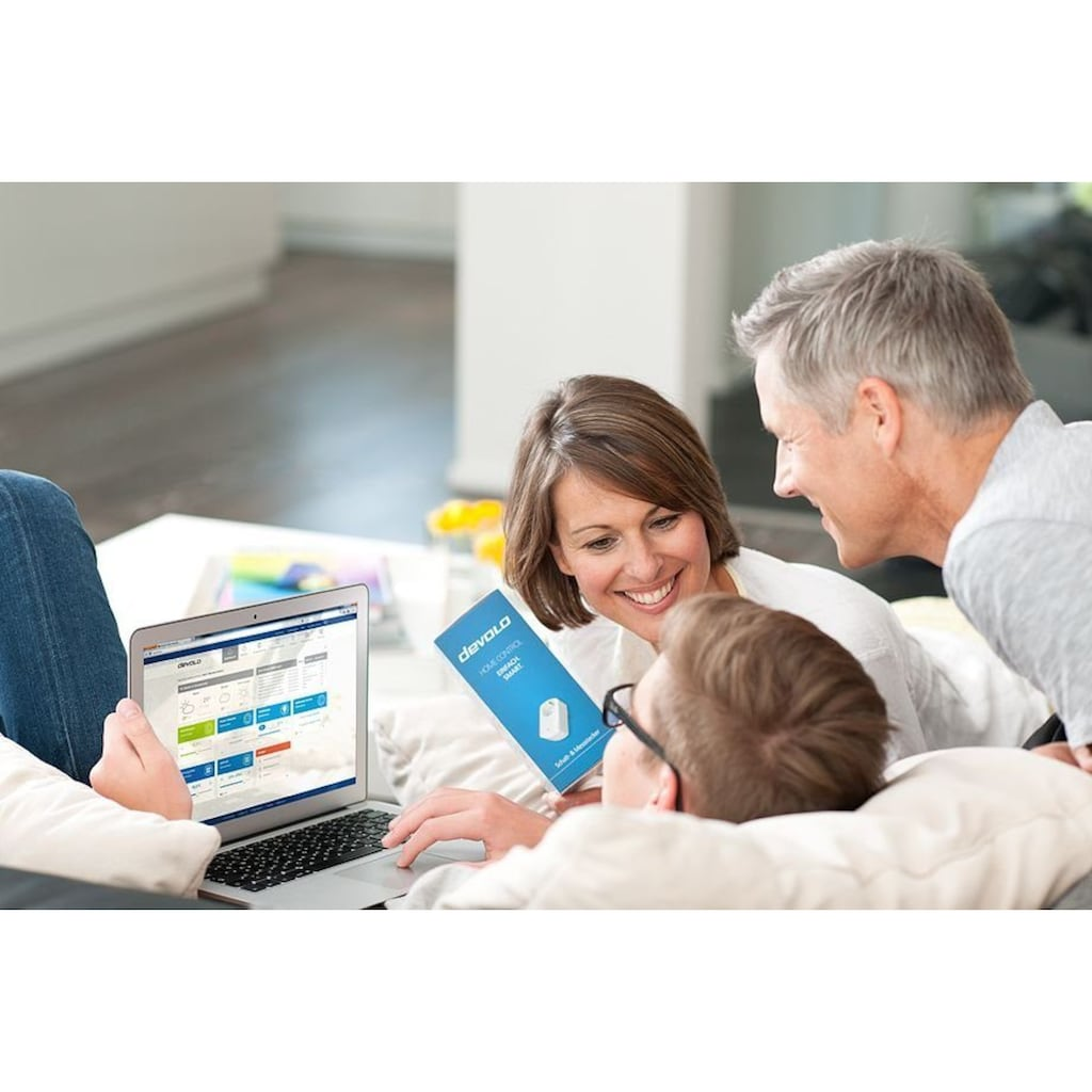 DEVOLO Smart-Home-Steuerelement »Home Control Zentrale, Gateway, Hausautomation«