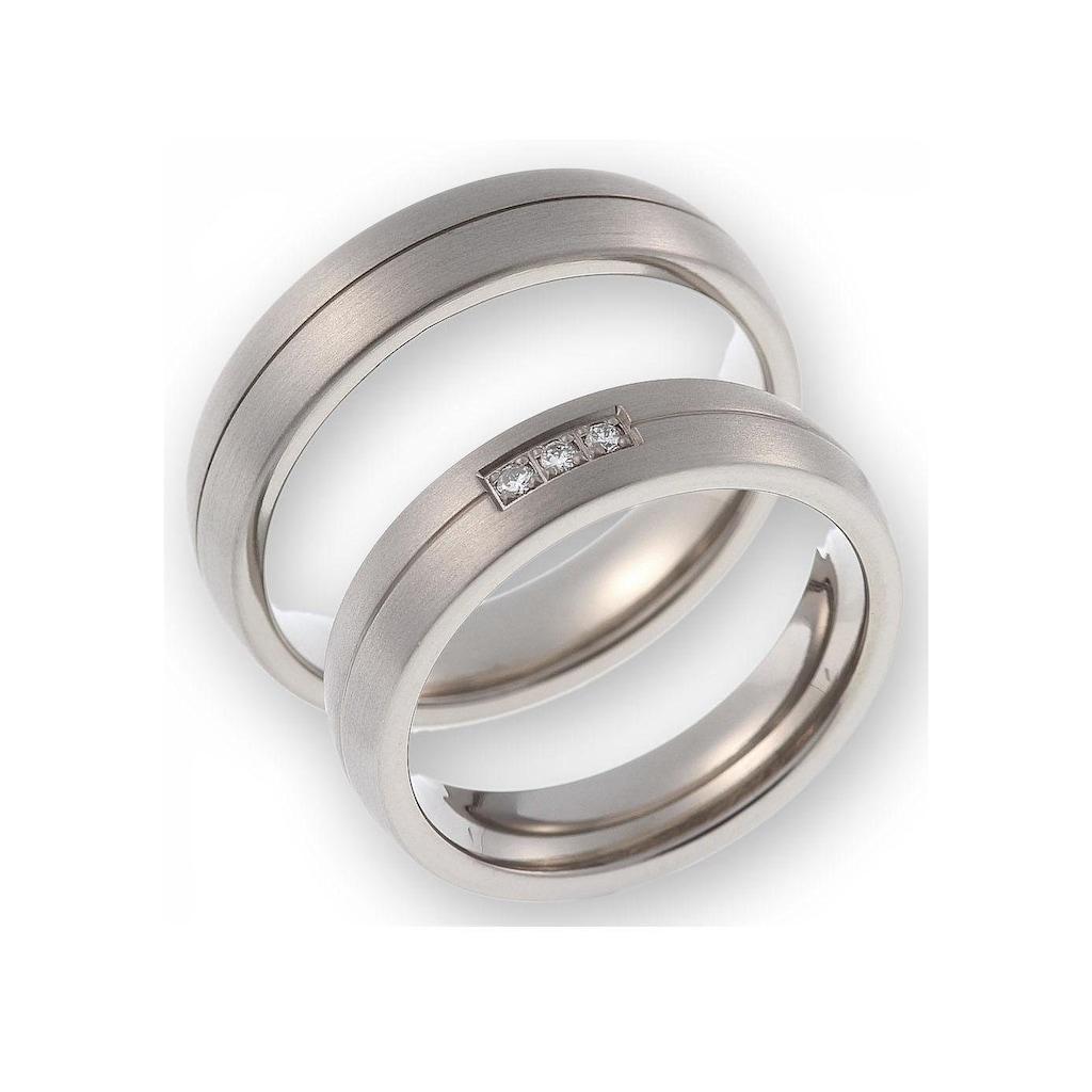 CORE by Schumann Design Trauring »20006182-DR, 20006182-HR, ST051.02«, Made in Germany - wahlweise mit oder ohne Diamanten