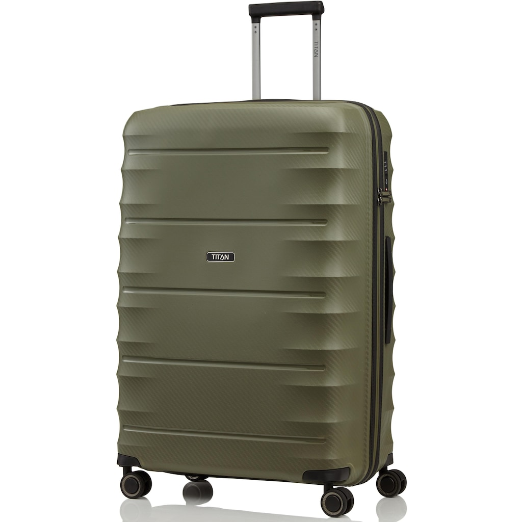 TITAN® Hartschalen-Trolley »Highlight, 75 cm«, 4 Rollen