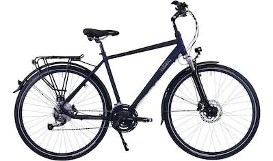 HAWK Bikes Trekkingrad »HAWK Trekking Gent Deluxe Ocean Blue«, 27 Gang Shimano Alivio Schaltwerk kaufen
