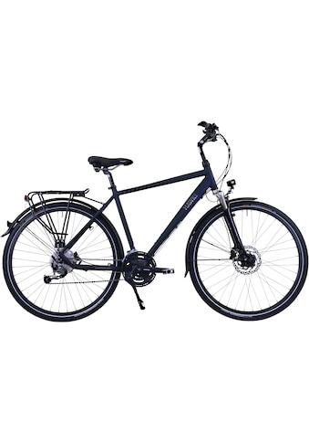 HAWK Bikes Trekkingrad »HAWK Trekking Gent Deluxe Ocean Blue«, 27 Gang, Shimano, Alivio Schaltwerk kaufen