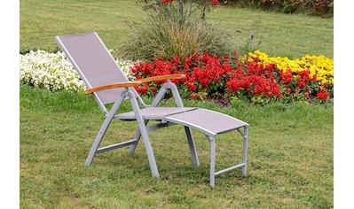 MERXX Gartensessel »Naxos«, Relaxsessel, 5-fach verstellbar kaufen