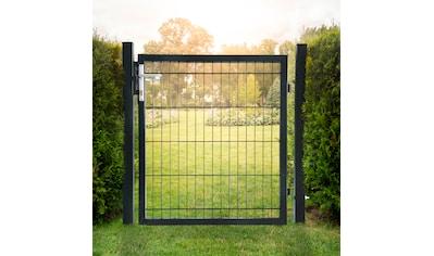 HOME DELUXE Gartentor , für Doppelstabmatten, HxL: 0,8x1,0 Meter kaufen