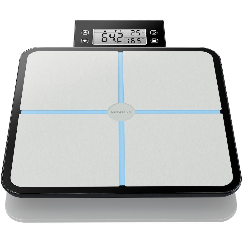 Medisana Körper-Analyse-Waage »BS 460«, integrierte Kalorienbedarfsanalyse (BMR)