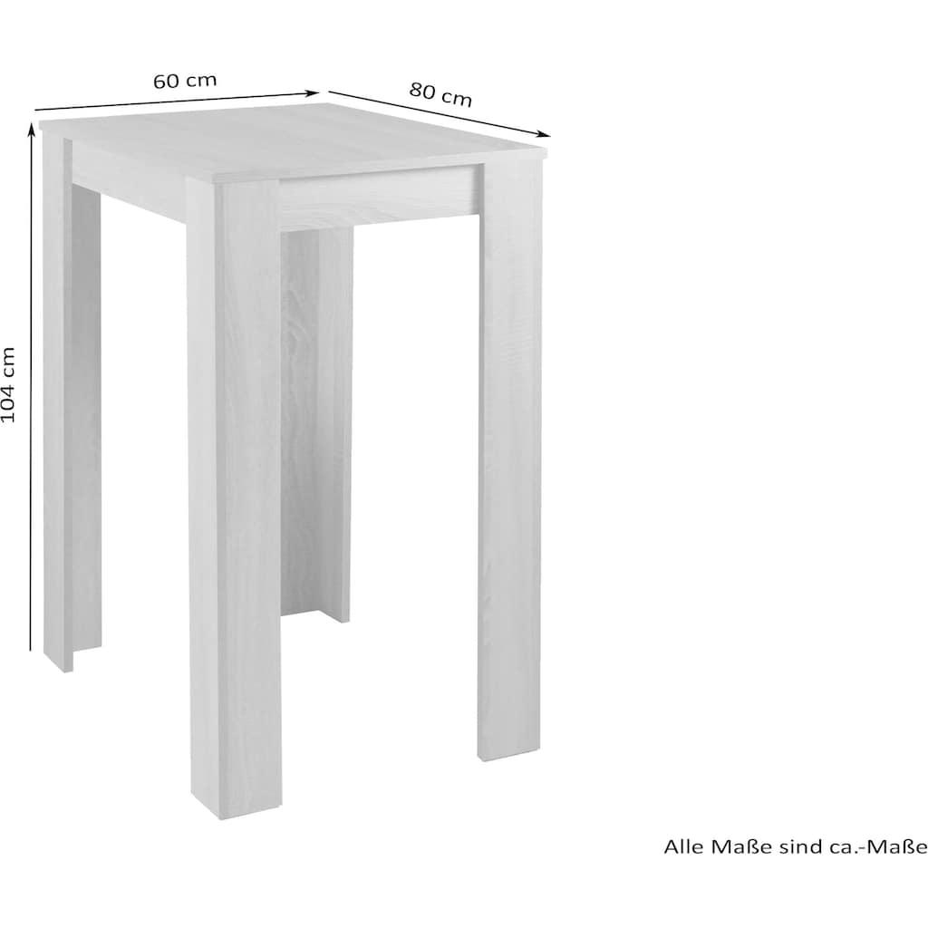 Homexperts Bartisch »Nika«, Höhe 104 cm