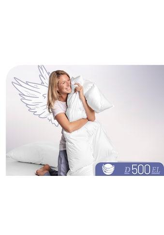 Schlafstil Daunenbettdecke »D500«, extraleicht, Füllung 100% Daunen, Bezug 100%... kaufen