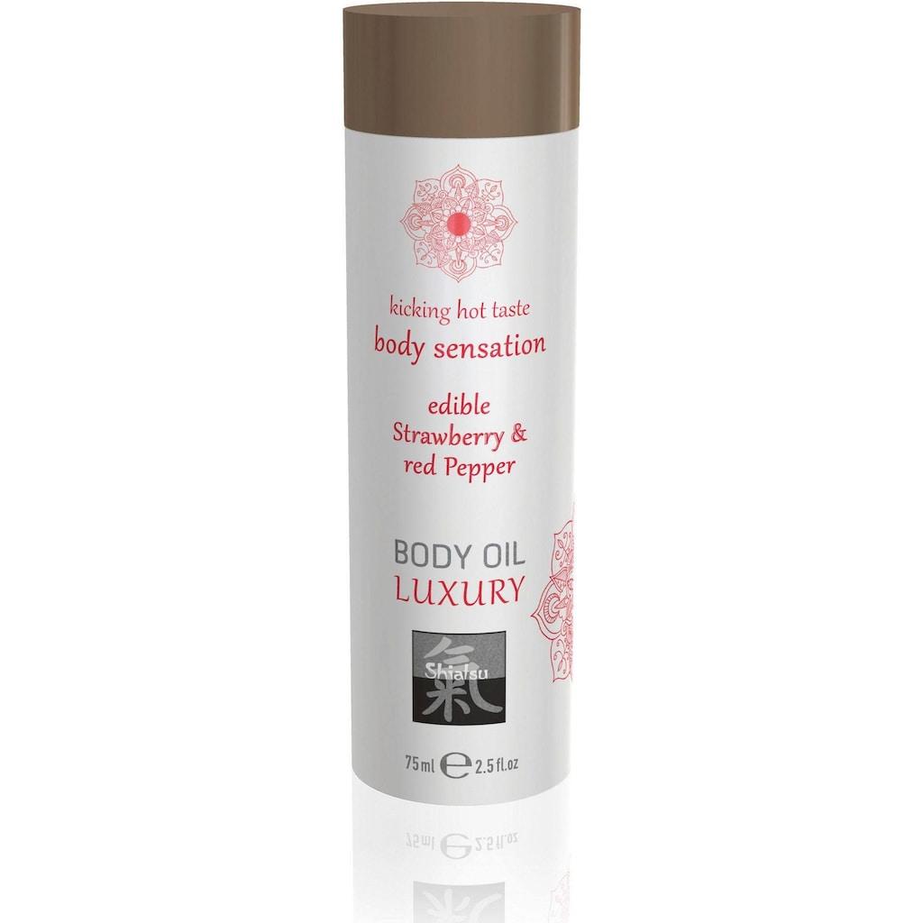 Shiatsu Massageöl »Body Oil Erdbeere 75 Massage«