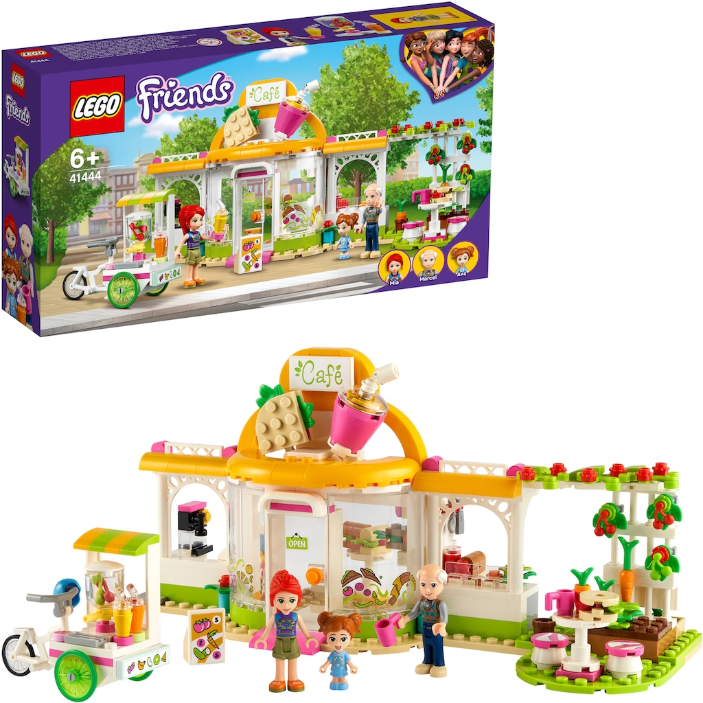 LEGO® Konstruktionsspielsteine »Heartlake City Bio-Café (41444), LEGO® Friends«, (314 St.), Made in Europe