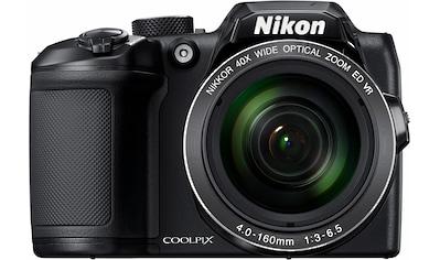 Nikon Kompaktkamera »Coolpix B500«, 16 MP, 40x opt. Zoom, WLAN (Wi-Fi)-NFC-Bluetooth,... kaufen