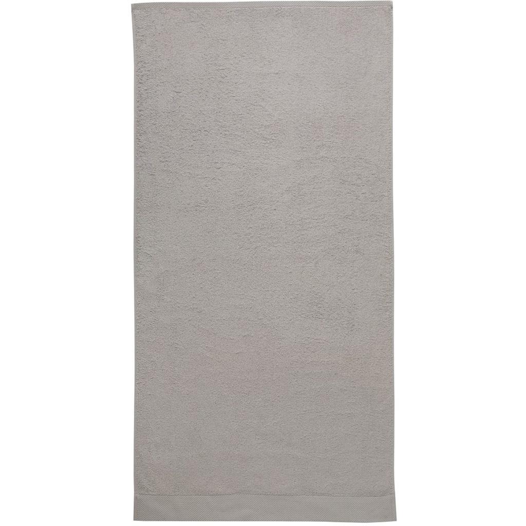 Seahorse Handtücher »Pure«, (2 St.), mit Strukturbordüre