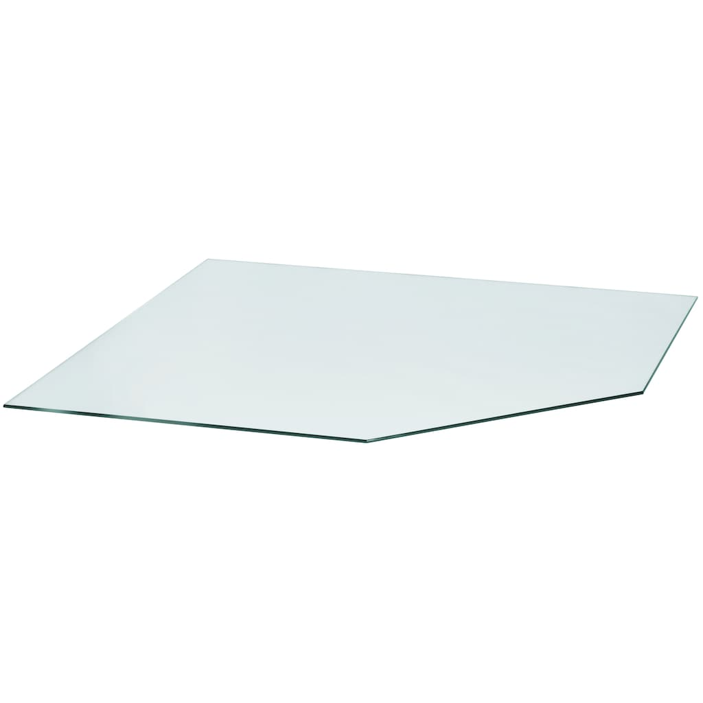 Heathus Bodenschutzplatte, Fünfeck, 120 x 120cm, zum Funkenschutz