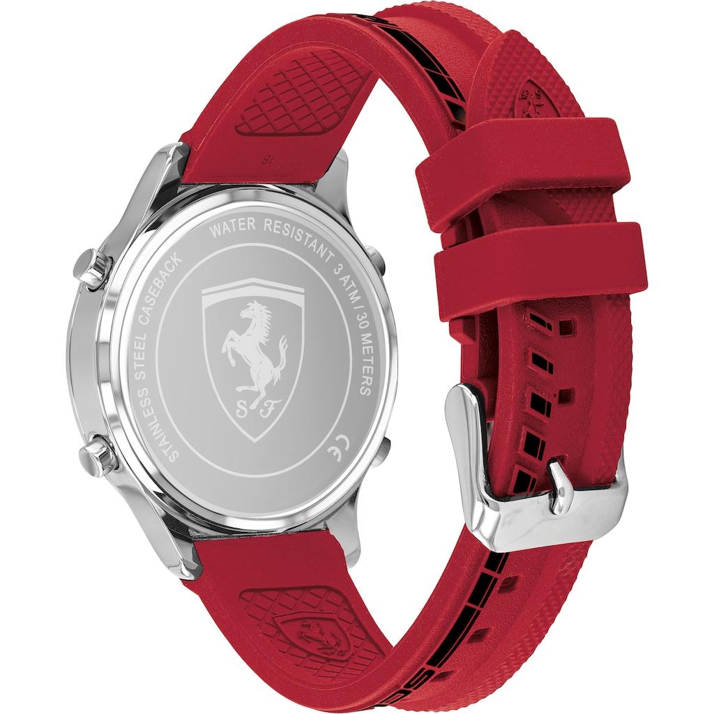 Scuderia Ferrari Digitaluhr »DIGITRACK, 830757«