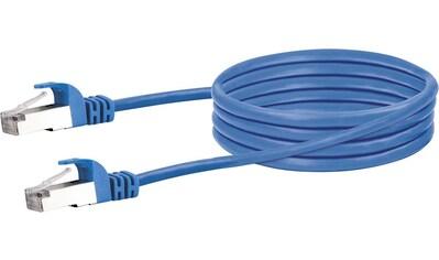 SCHWAIGER CAT6 Netzwerkkabel, Ethernet LAN Kabel, Patchkabel RJ45 »für Switch, Router, TV, etc« kaufen