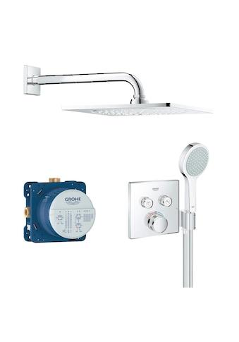Grohe Duschsystem »Grohtherm Smartcontrol«, eckig, chrom kaufen