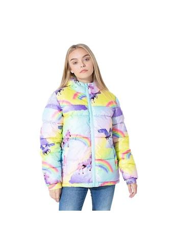 Hype Steppjacke »Mädchen mit Regenbogen -  und Einhorn - Design« kaufen