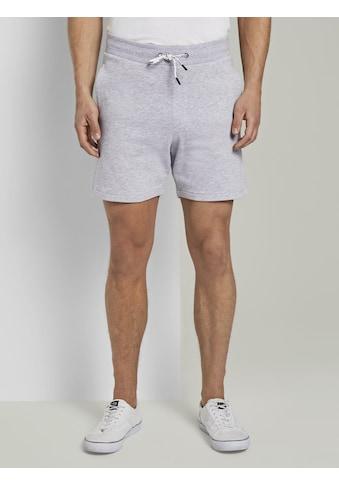 TOM TAILOR Denim Shorts »Sweatshorts mit elastischem Bund« kaufen