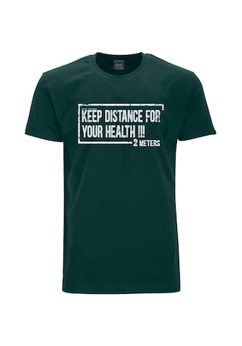 AHORN SPORTSWEAR T - Shirt mit markantem Frontprint »2_METERS« kaufen