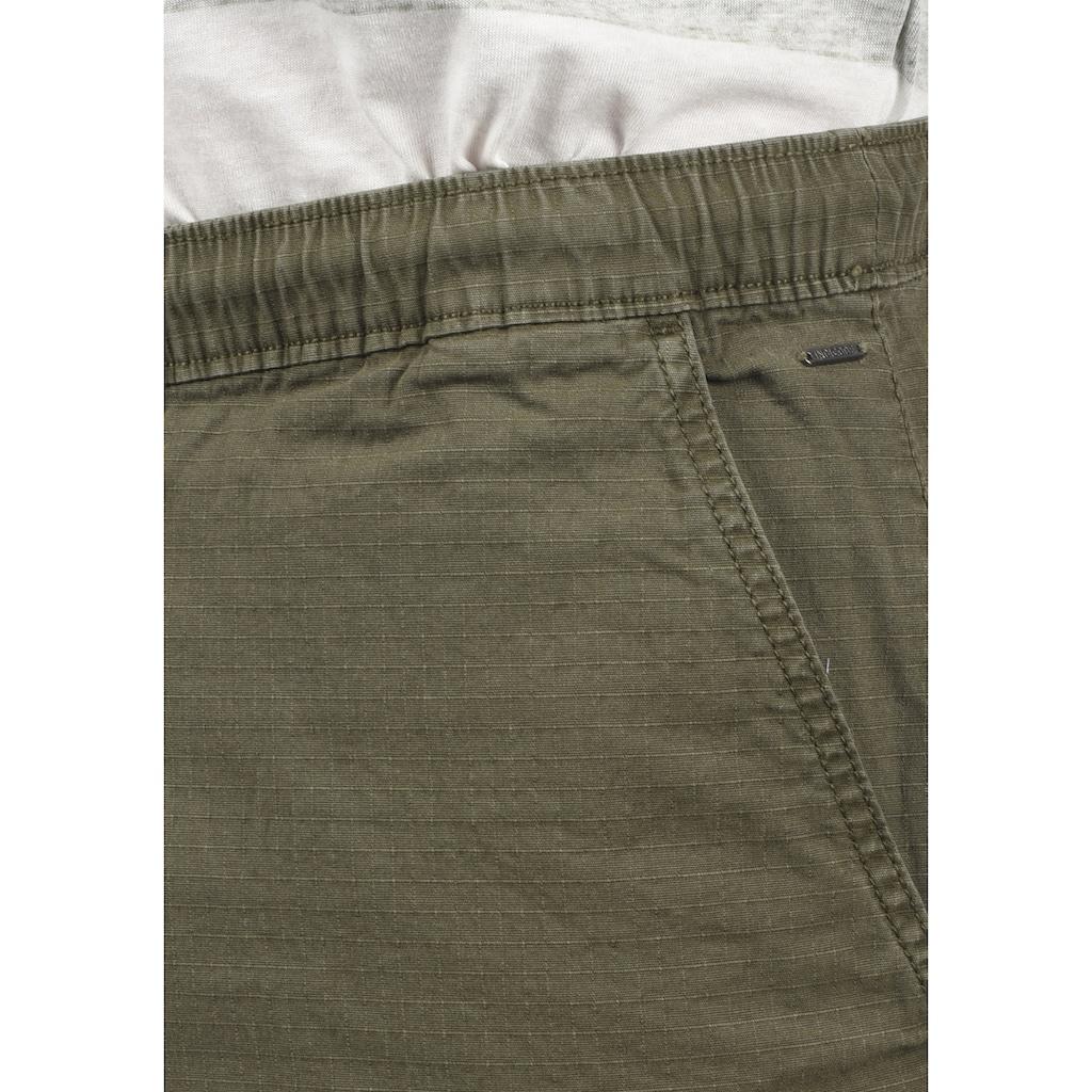Indicode Cargoshorts »Frances«, kurze Hose mit elastischem Bund