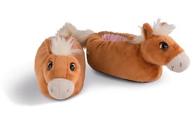 Nici Plüsch Hausschuhe »Haflinger Leotie« kaufen