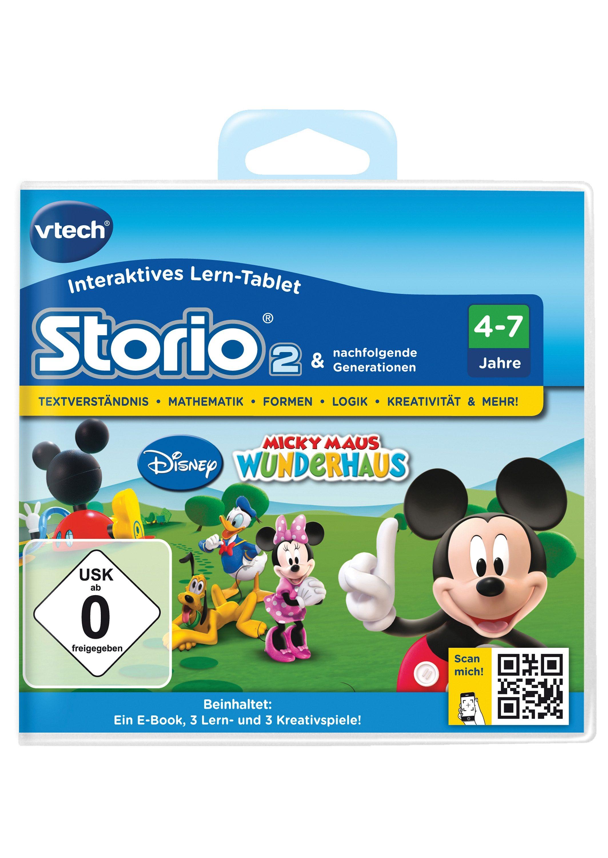 Spiel Storio 2 Disney Micky Maus Wunderhaus vtech Technik & Freizeit/Spielzeug/Altersempfehlung/Ab 3-5 Jahren