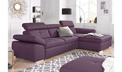 exxpo - sofa fashion Ecksofa, wahlweise mit Bettfunktion kaufen