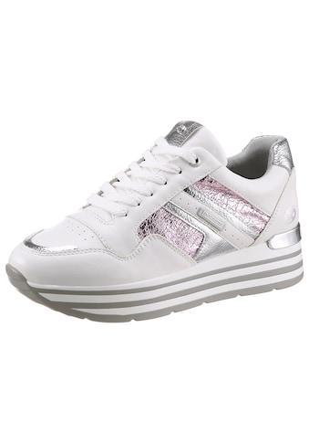 Dockers by Gerli Sneaker, mit metallicfarbenen Appplikationen kaufen