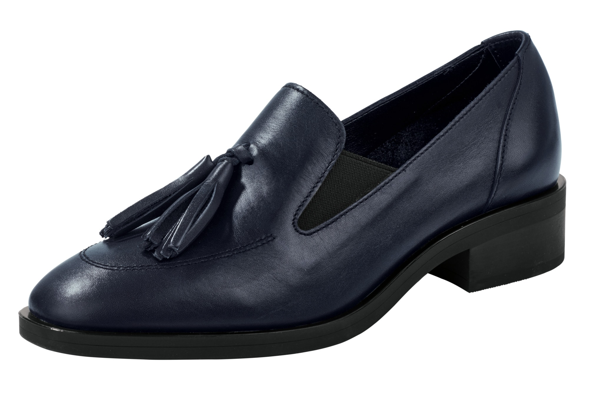 Heine Slipper mit Tasseln | Schuhe > Slipper | Blau | Heine