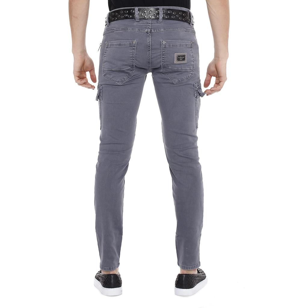 Cipo & Baxx Slim-fit-Jeans, mit Seitentaschen