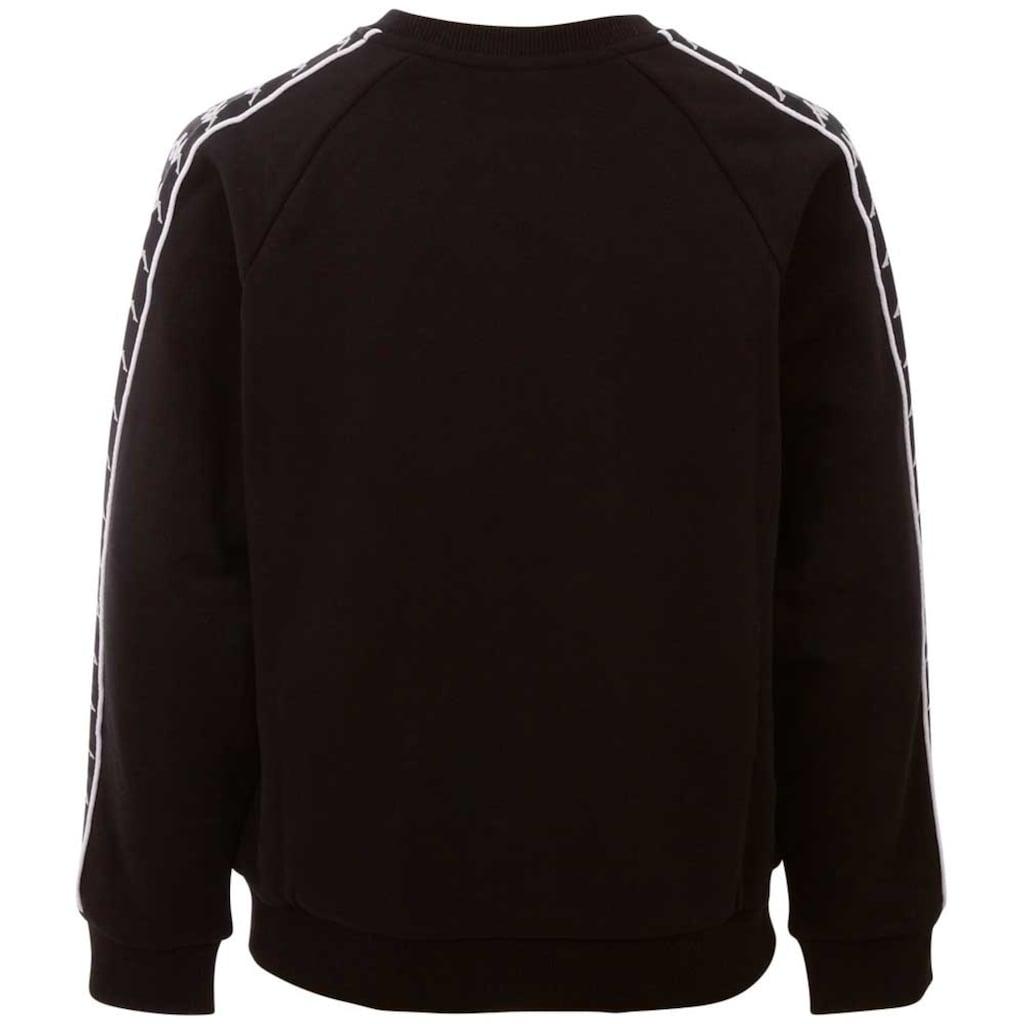 Kappa Sweatshirt »HARRIS«, mit hochwertigem Logowebband an den Ärmeln