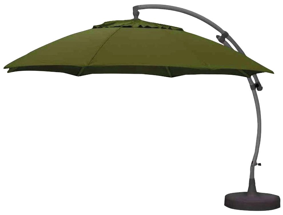 sungarden Sonnenschirm grün Sonnenschirme -segel Gartenmöbel Gartendeko