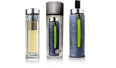 Creano Teekanne »Teamaker«, (1), inkl. Filztasche, grüner Reißverschluss kaufen