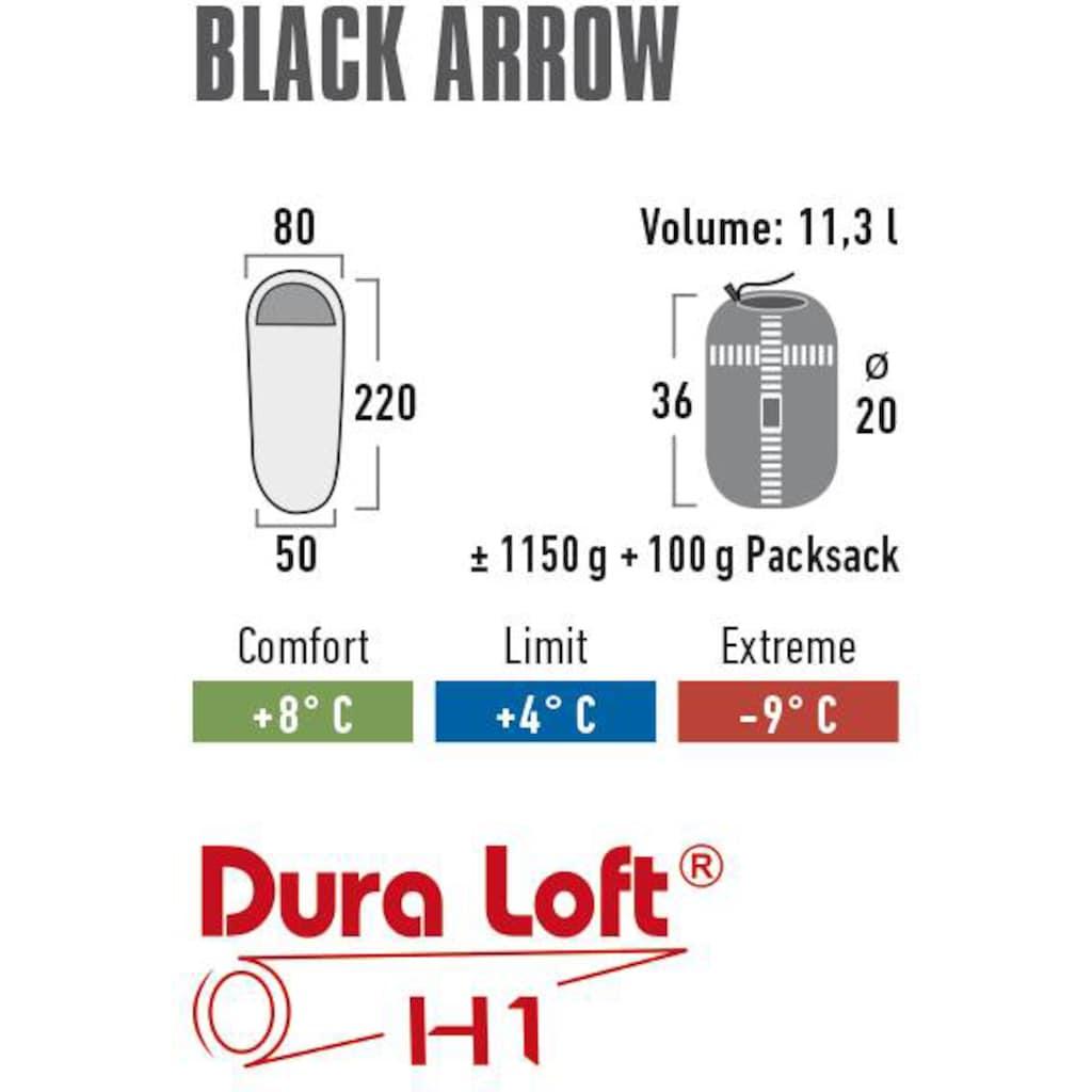 High Peak Mumienschlafsack »Black Arrow«, PFC frei