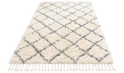 Home affaire Wollteppich »Marcus«, rechteckig, 50 mm Höhe, reine Wolle, Hochflor, Wohnzimmer kaufen