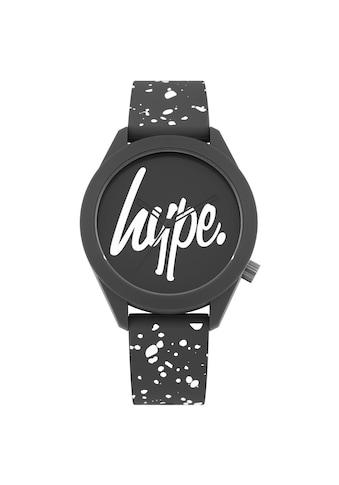 Hype Automatikuhr »Unisex Armbanduhr mit Logo und Farbspritzer - Design, analog« kaufen
