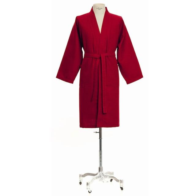 Möve Kimono »Homewear«, (1 St.), Piquée-Oberfläche