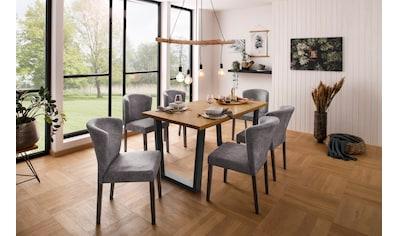 Home affaire Esstisch »Marne«, erstrahlt in einer pflegeleichten Holzoptik, mit einem... kaufen