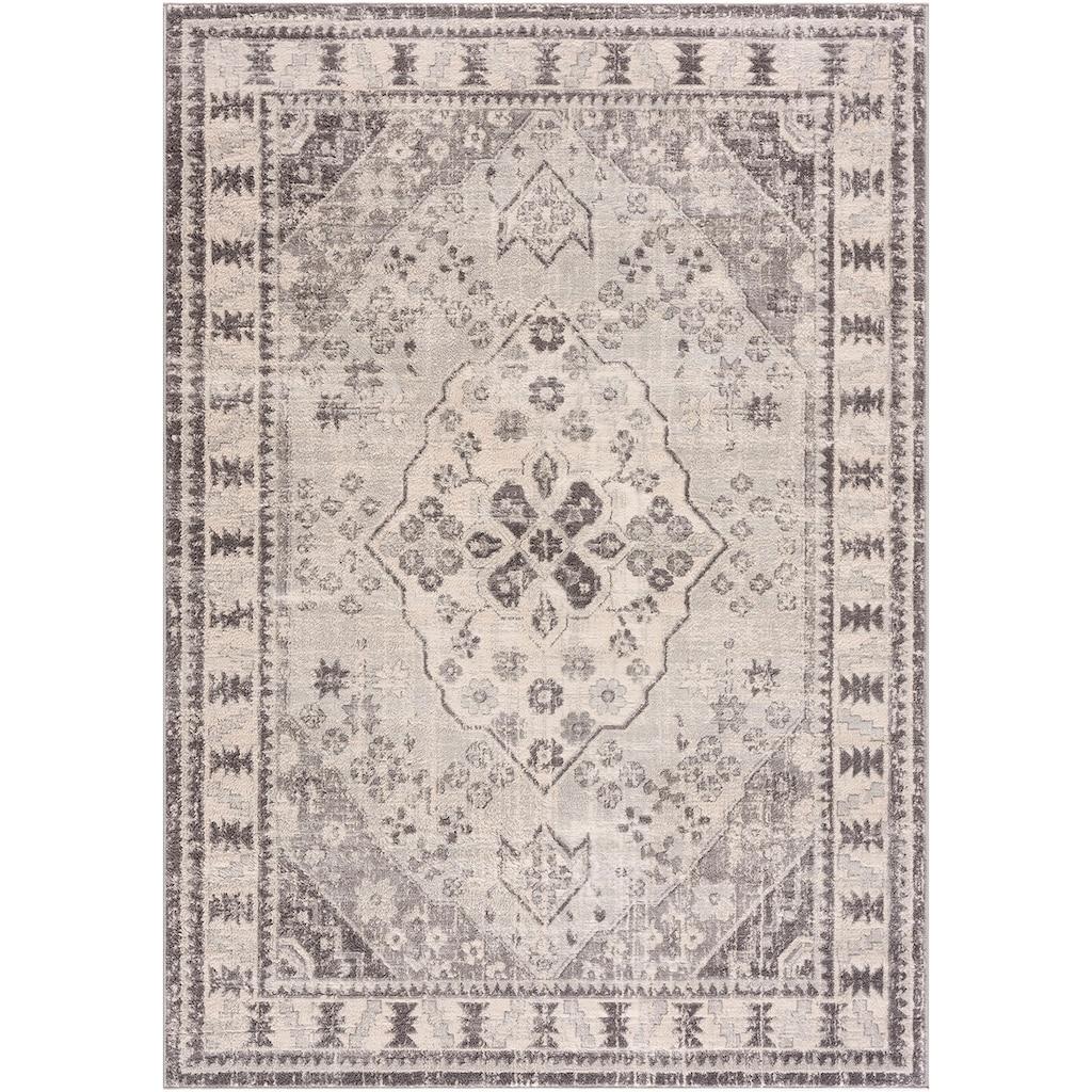Sehrazat Orientteppich »Montana 3920«, rechteckig, 8 mm Höhe, Wohnzimmer, Kurzflorteppich