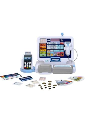 Klein Spielkasse »Shopping Center Tablet & Kassenstation«, mit elektronischen Funktionen kaufen